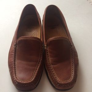 Dockers Brown Leather Loafers Size 9